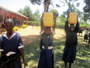The Water Project:  Students Sent To Fetch Water