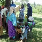 The Water Project: Ebung'ayo Community, Murambi Spring -