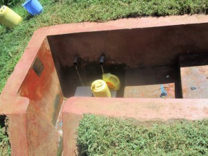 The Water Project:  Mukangu Spring