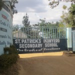 The Water Project: Ikonyero Secondary School -  School Entrance
