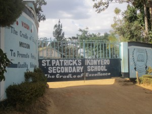 The Water Project : 1-kenya4639-school-entrance