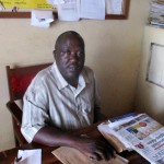 The Water Project: Ebukanga Secondary School -  Principal Jeremiah Andayi