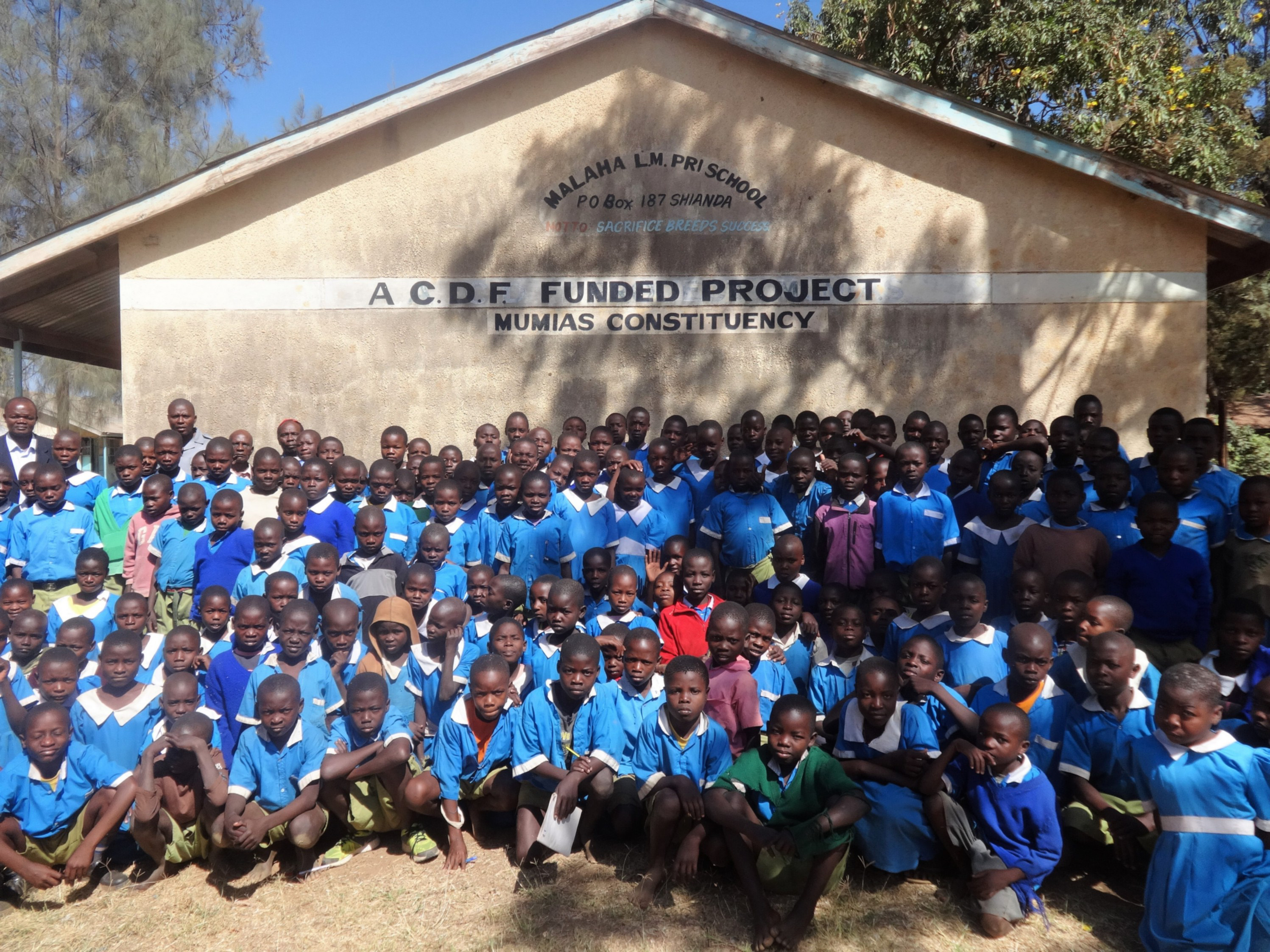 The Water Project : 1-kenya4680-malaha-students