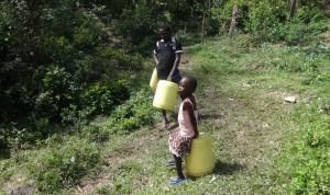The Water Project : 1-kenya4696-waiting-to-fetch-water