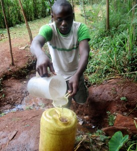 The Water Project:  Alfred Anuko