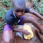 The Water Project: Kidinye Community A -  Brian Sagwa
