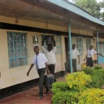 The Water Project: Bumira Secondary School -  Fetching Water