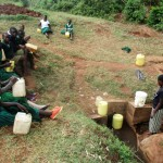 The Water Project: Ebukanga Primary School -  Waiting For Community