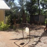 The Water Project: Malaha Primary School -  Improvised Hand Washing Station
