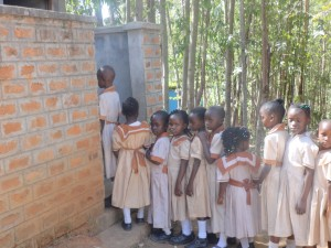 The Water Project:  Latrine Lines