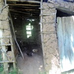The Water Project: Mwinaya Community -  Latrine