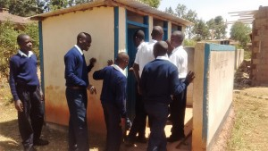 The Water Project : 12-kenya4637-latrines