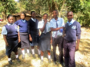The Water Project : 13-kenya4639-school-prefects