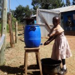 The Water Project: Compassion Primary School -  Hand Washing Station