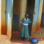 The Water Project: Ebukanga Primary School -  Latrines