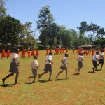 The Water Project: Essunza Primary School -  Running To Class