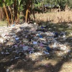 The Water Project: Malaha Primary School -  School Garbage