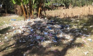 The Water Project : 13-kenya4680-school-garbage