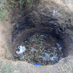 The Water Project: Shitungu Community A -  Compost Pit