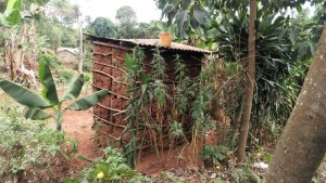 The Water Project:  Side Of Traditional Latrine