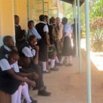 The Water Project: Ikonyero Secondary School -  Form One Students Registering