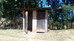 The Water Project:  Only Two Latrines