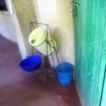 The Water Project: Friends Makuchi Secondary School -  Hand Washing Station