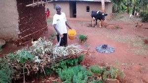 The Water Project:  Zachariah Anavira At His Homestead