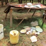 The Water Project: Ebukanga Primary School -  School Kitchen Area