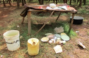The Water Project : 16-kenya4666-school-kitchen-area