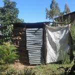 The Water Project: Shitungu Community A -  Latrine