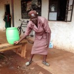 The Water Project: Ebukanga Primary School -  Hand Washing Station