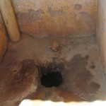 The Water Project: Essunza Primary School -  Inside Latrine