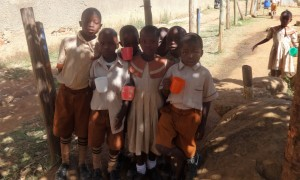 The Water Project:  Students With Water Cups