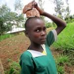 The Water Project : 18-kenya4666-gathering-materials
