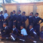 The Water Project : 19-kenya4624-finished-latrines