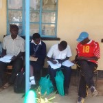 The Water Project: Rosterman Secondary School -  Form One Students Enrolling