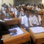 The Water Project: Friends Makuchi Secondary School -  Students In Class