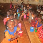 The Water Project: Essunza Primary School -  Ecd Children In Class