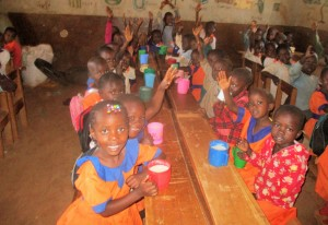The Water Project:  Ecd Children In Class