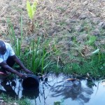 The Water Project: Mwinaya Community -  Unprotected Source