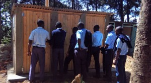 The Water Project : 21-kenya4624-finished-latrines