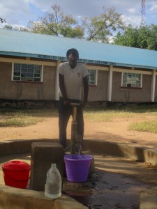 The Water Project:  Primary Borehole