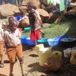 The Water Project: Compassion Primary School -  Waiting For Porridge