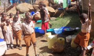The Water Project:  Waiting For Porridge