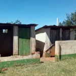 The Water Project : 22-kenya4644-condemned-latrines