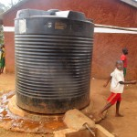The Water Project: Emurembe Primary School -  School Water Tank