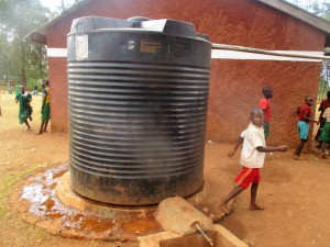 The Water Project:  School Water Tank