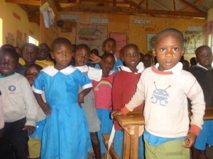The Water Project:  Early Childhood Students