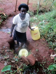 The Water Project : 3-kenya4702-fetching-water